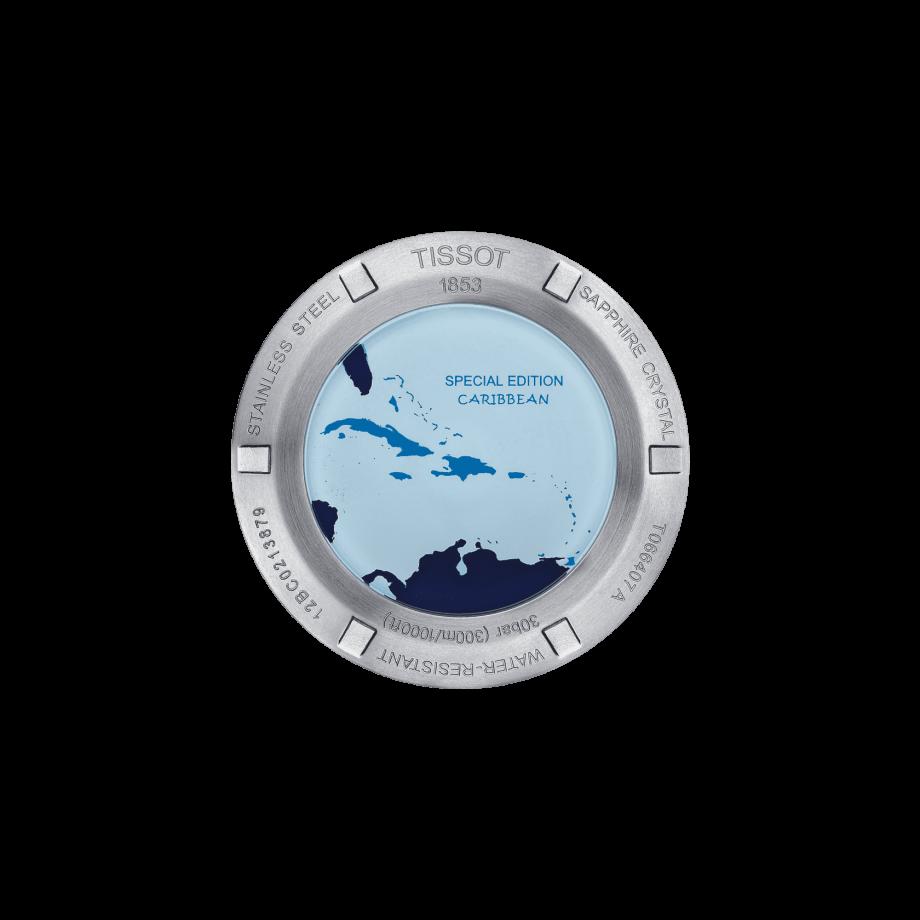 Tissot Seastar 1000 Powermatic 80 Carribean Edition - View 1